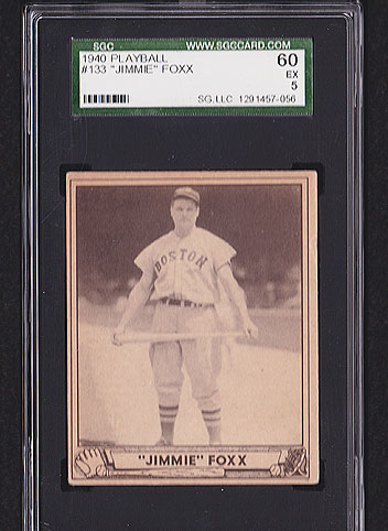 1940 Play Ball Jimmie Foxx