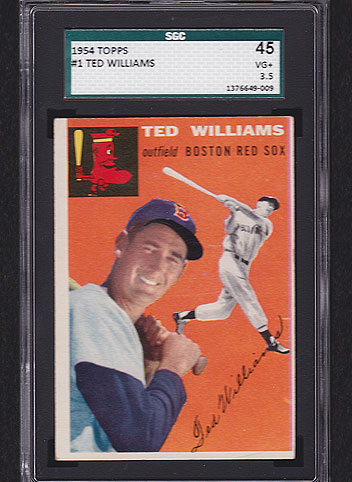 1954 Topps Ted Williams