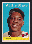1958 Topps Willie Mays