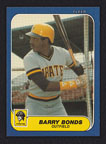 1986 Fleer Update Barry Bonds
