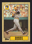 1987 Topps Barry Bonds