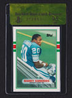 1989 Topps Traded Barry Sanders