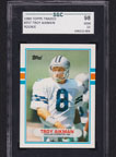 1989 Topps Traded Troy Aikman