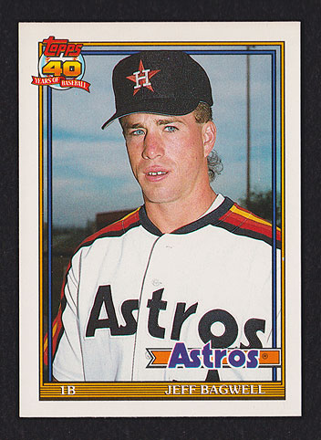 1991 Topps Traded Jeff Bagwell
