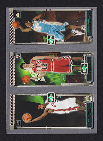 2003 Topps Rookie Matrix Lebron James