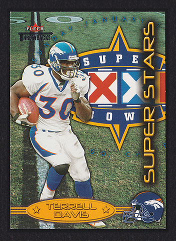2002 Fleer Throwbacks Terrell Davis